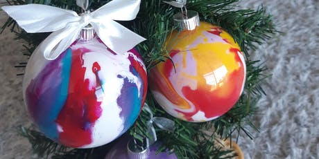 Christmas Baubles Painting Workshop tickets