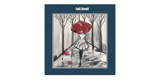 PAINTIN' PARTY with KAT: Fall Stroll (ACRYLIC PAINTING on CANVAS)