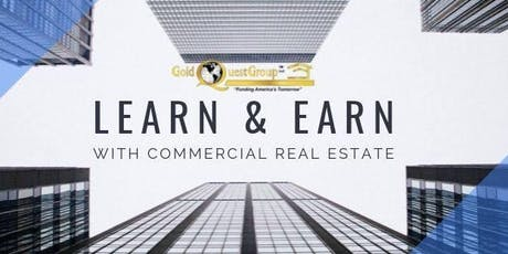 Learn & Earn: Commercial Real Estate tickets