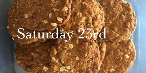 Tasting History: Anzac biscuit baking at Cementa 2019 Saturday 23rd
