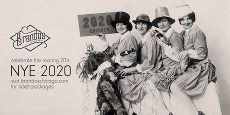 New Year's Eve 2020 at Brandos Speakeasy! tickets