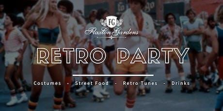 Flaxton Gardens' Wedding Suppliers Night - Retro Party! tickets