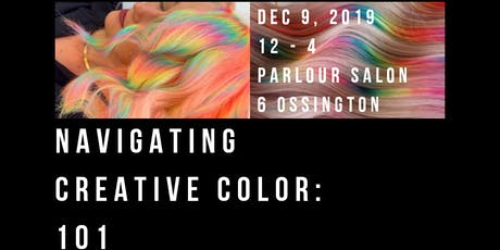 Navigating Creative Color 101 with @hairbymisskellyo and @watermelonyhair tickets