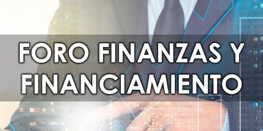 Foro de Finanzas y Financiamiento