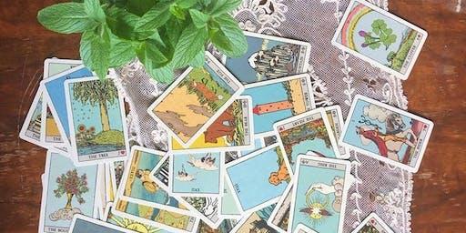 Drop-in Tarot readings with Iris at Seagrape
