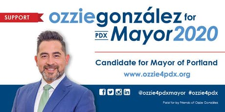 PBDG Invites You To Meet Ozzie González, Candidate for Mayor of Portland tickets