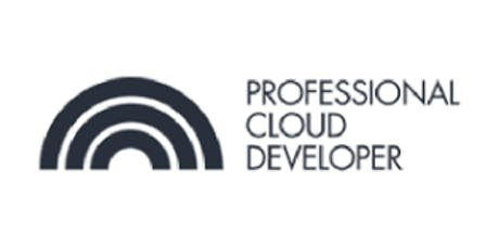 CCC-Professional Cloud Developer (PCD) 3 Days Virtual Live Training in Barcelona tickets