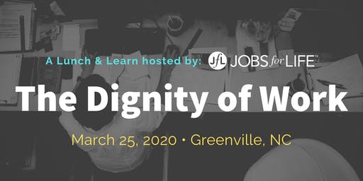 The Dignity of Work: A lunch & learn hosted by Jobs for Life and St. Timothy's Episcopal Church