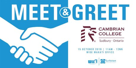 Meet & Greet: Cambrian College tickets