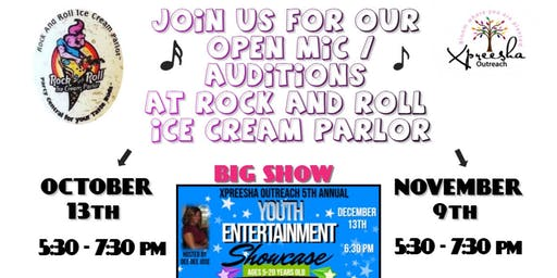 Youth Entertainment Showcase Open Mic / Auditions