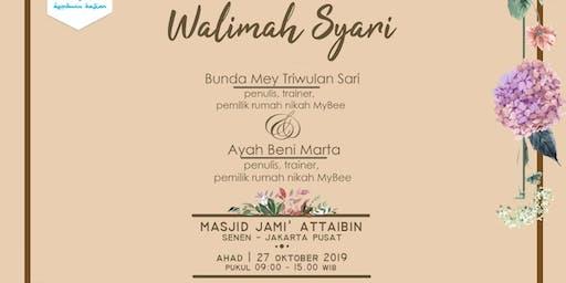 """Seminar Pra Nikah """"Walimah Syar'i"""""""