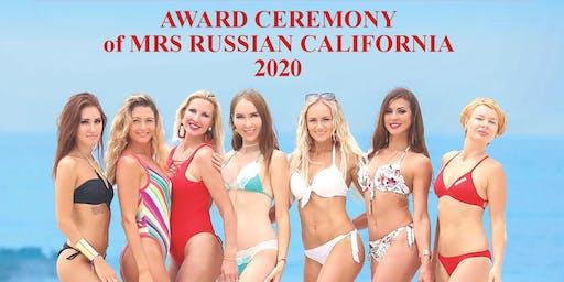 Award Ceremony of Mrs Russian California