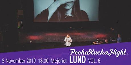 PechaKucha Night Lund VOL6 tickets