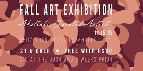 Akatsuki Collective Fall Arts Exhibition tickets