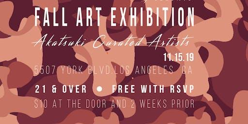 Akatsuki Collective Fall Arts Exhibition