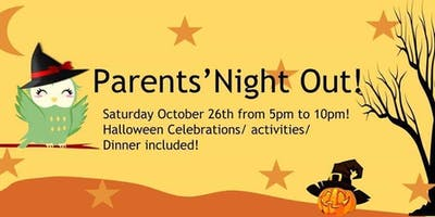 Halloween Parents' Night Out!
