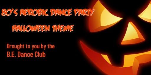 80's Aerobic Dance Party - Halloween Theme