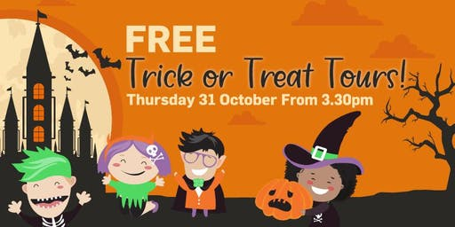 Free Trick and Tour Halloween Tour at Rode Road Shopping Centre