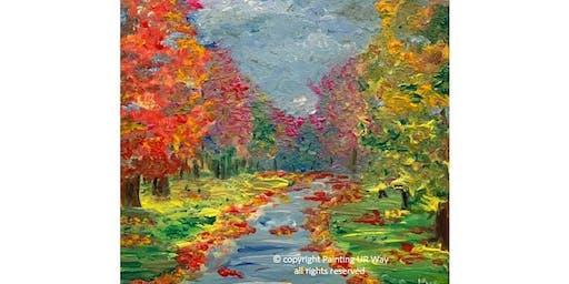 Fall Impressions - 12x12 Canvas