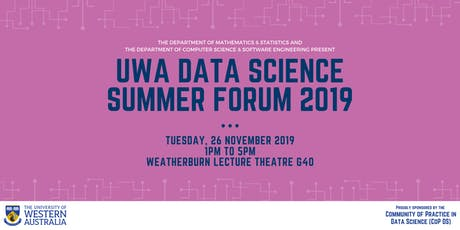 UWA Data Science Summer Forum tickets