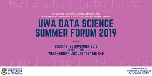 UWA Data Science Summer Forum