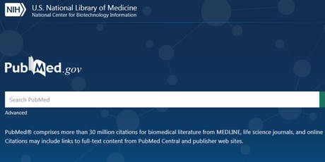 The New PubMed - what you need to know tickets