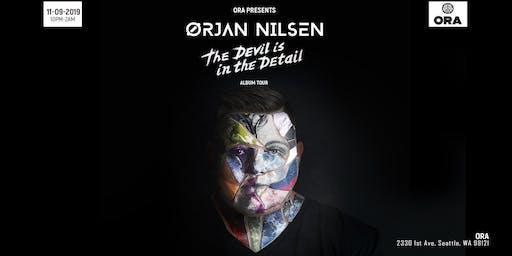 Orjan Nilsen 'THE DEVIL is IN the Detail' ALBUM TOUR at Ora