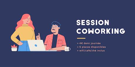 Session coworkin mercredi 16 octobre billets