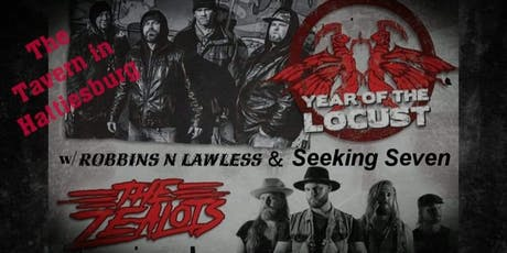 Year of the Locust & The Zealots w/Robbins n Lawle tickets