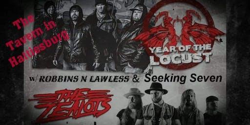 Year of the Locust & The Zealots w/Robbins n Lawle