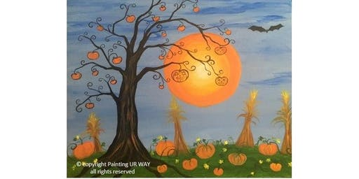 Family Paint Day - Pumpkin Harvest