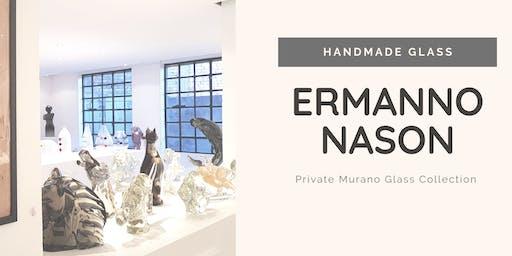 ERMANNO NASON | Murano Glass Private Collection