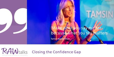 Closing the Confidence Gap - Time to Lean in to the Power of You tickets