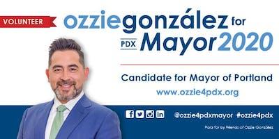 Ozzie González Volunteer Appreciation Meet-up