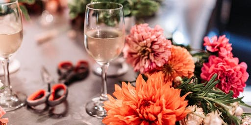 Blooms & Bubbly - Thanksgiving Centerpiece Workshop