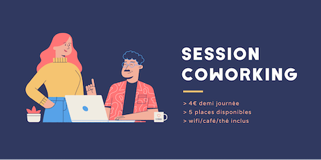 Session coworking lundi 21 octobre billets