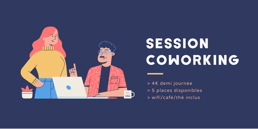 Session coworking lundi 21 octobre