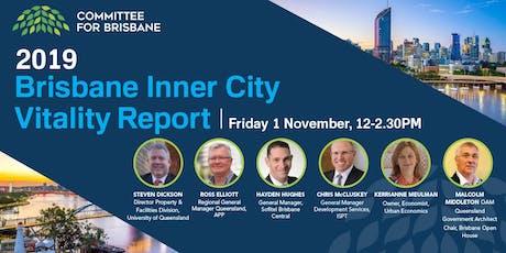2019 Brisbane City Vitality Report  tickets