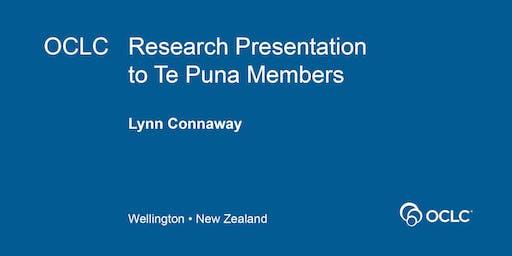 OCLC Research Event NZ - OCT 2019