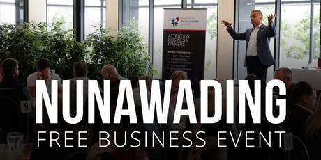 NUNAWADING Free Business Builders Event tickets