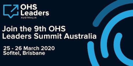 OHS Leaders Summit Australia tickets
