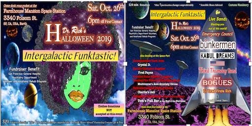 Dr. Rick's Intergalactic Funktastic Halloween 2019