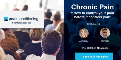 "Seminar: ""Chronic Pain; how to control your pain before it controls you"" tickets"