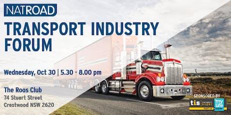 NatRoad Transport Industry Forum, Queanbeyan tickets