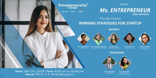 Ms. Entrepreneur (Exclusively for women)
