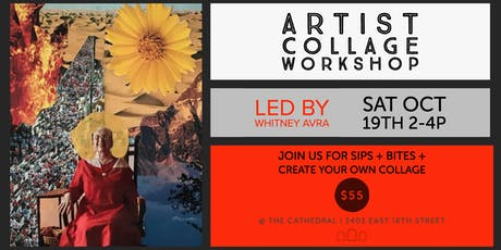 Mixed Media Collage Design Workshop with Whitney Avra tickets