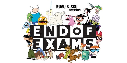 RUSU Presents: End of Exams Party