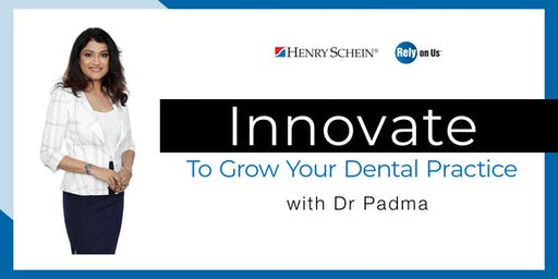 Innovate to Grow with Dr Padma - Melbourne