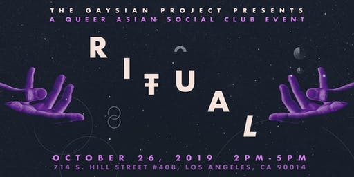 RITUAL: A Queer Asian Social Club Event