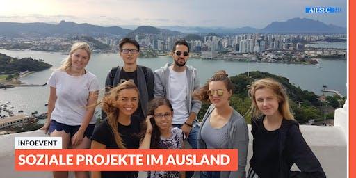 Ab ins Ausland: Infoevent zu sozialen Projekten im Ausland | Regensburg